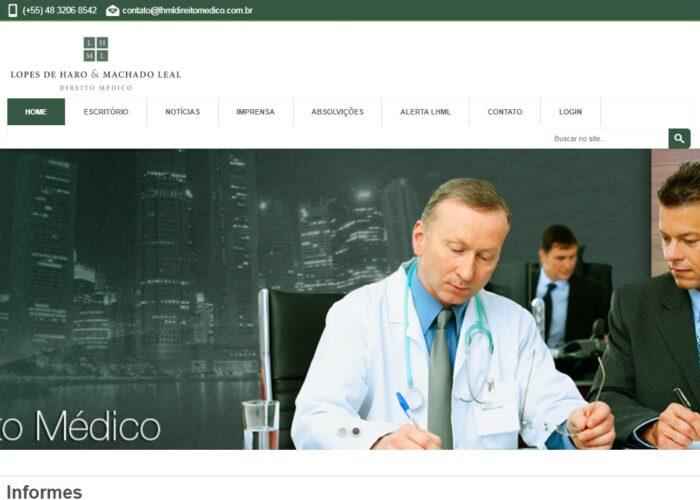 Site LHML Direito Médico