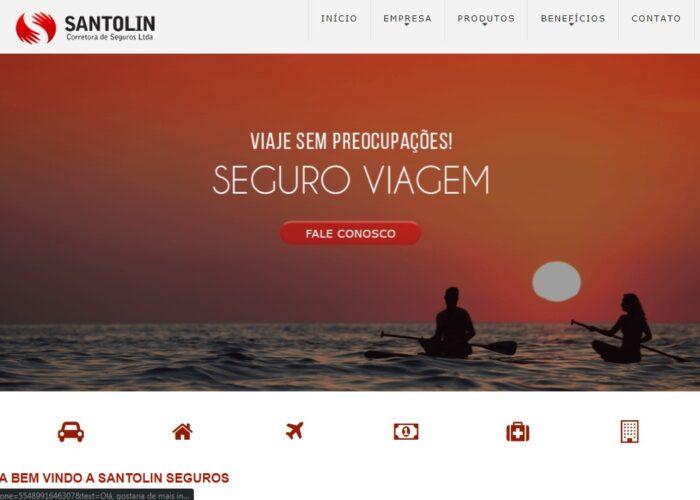 Santolin Seguros Site
